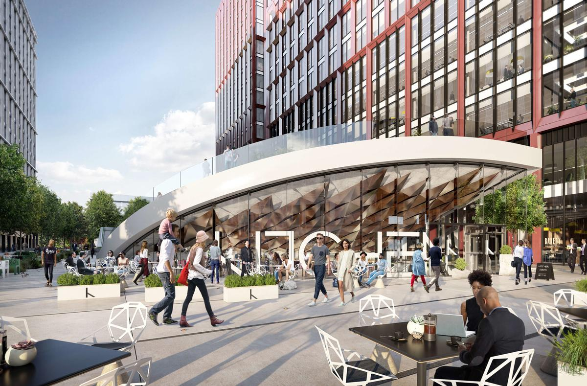 Circle Square is a joint venture between Bruntwood SciTech and Vita Group which, when complete, will feature an entirely new neighbourhood for housing, retail and leisure space / TRIB3