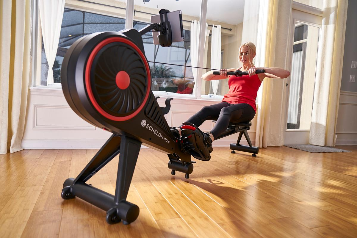 The rower builds on Echelon's EX3 Smart Connect fitness bike and is part of Echelon's plans to diversify its offer / Echelon Fitness