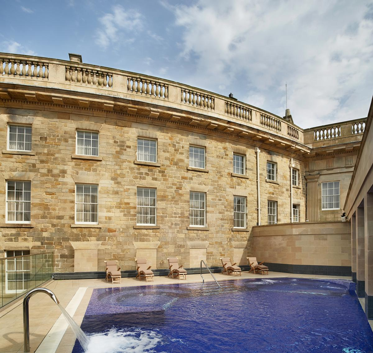 The projects' completion follows significant support from the National Lottery Heritage Fund / Buxton Crescent Hotel