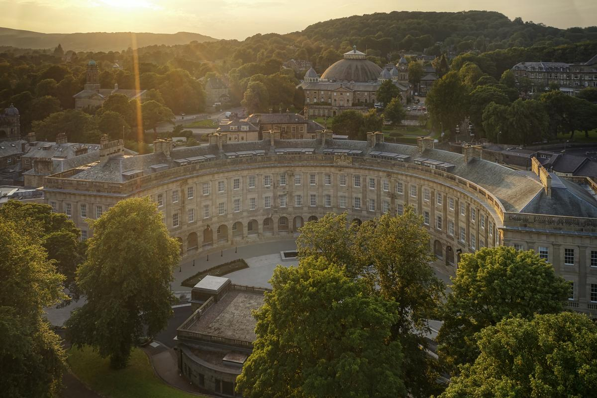 As one of the country's first genuine spa hotels, the 81-key hotel and spa will revive Buxton's wellness and hydrotherapy traditions / Buxton Crescent Hotel