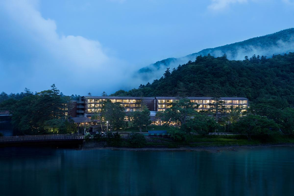 Nikken Sekki led architecture for the overall Ritz-Carlton Nikko resort / Ritz-Carlton