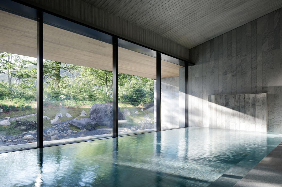 The Ritz-Carlton Nikko spa features an onsen which takes water from a spring discovered 1,200 years ago / Ritz-Carlton