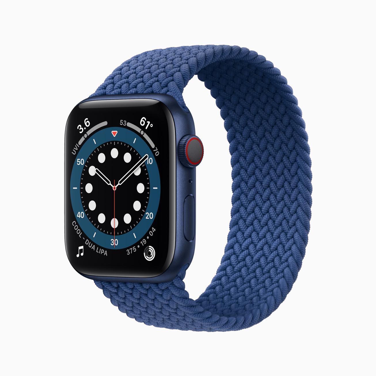 Apple Watch Series 6 features oxygen saturation measurement / Apple