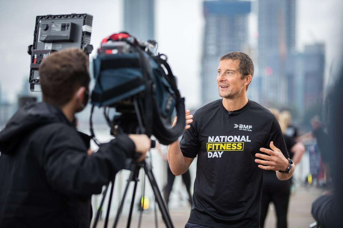 National Fitness Day 2020 was kicked off by global adventurer and Be Military Fit ambassador Bear Grylls / ukactive