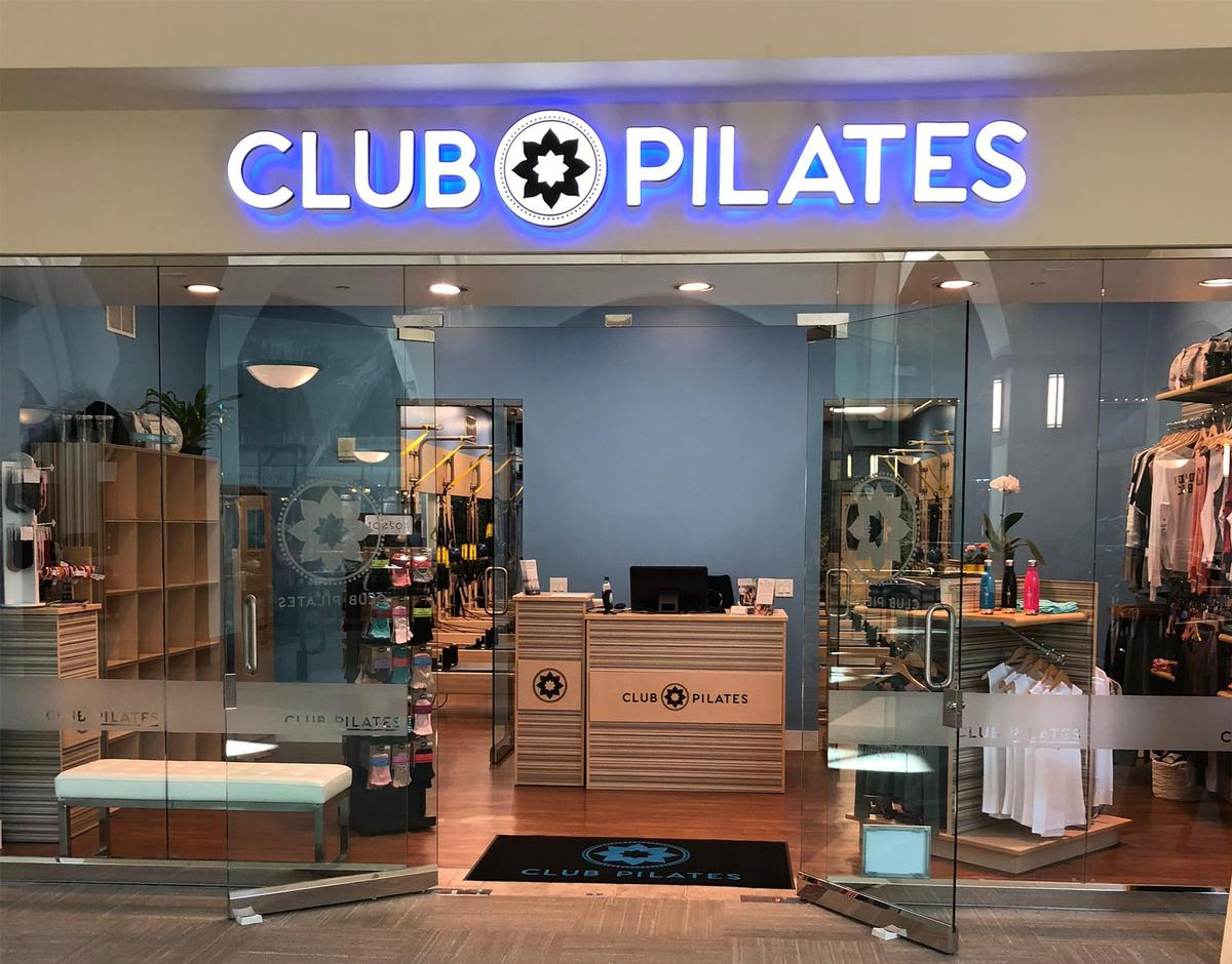 Among the five openings is a Club Pilates-branded studio / Club Pilates/Xponential Fitness