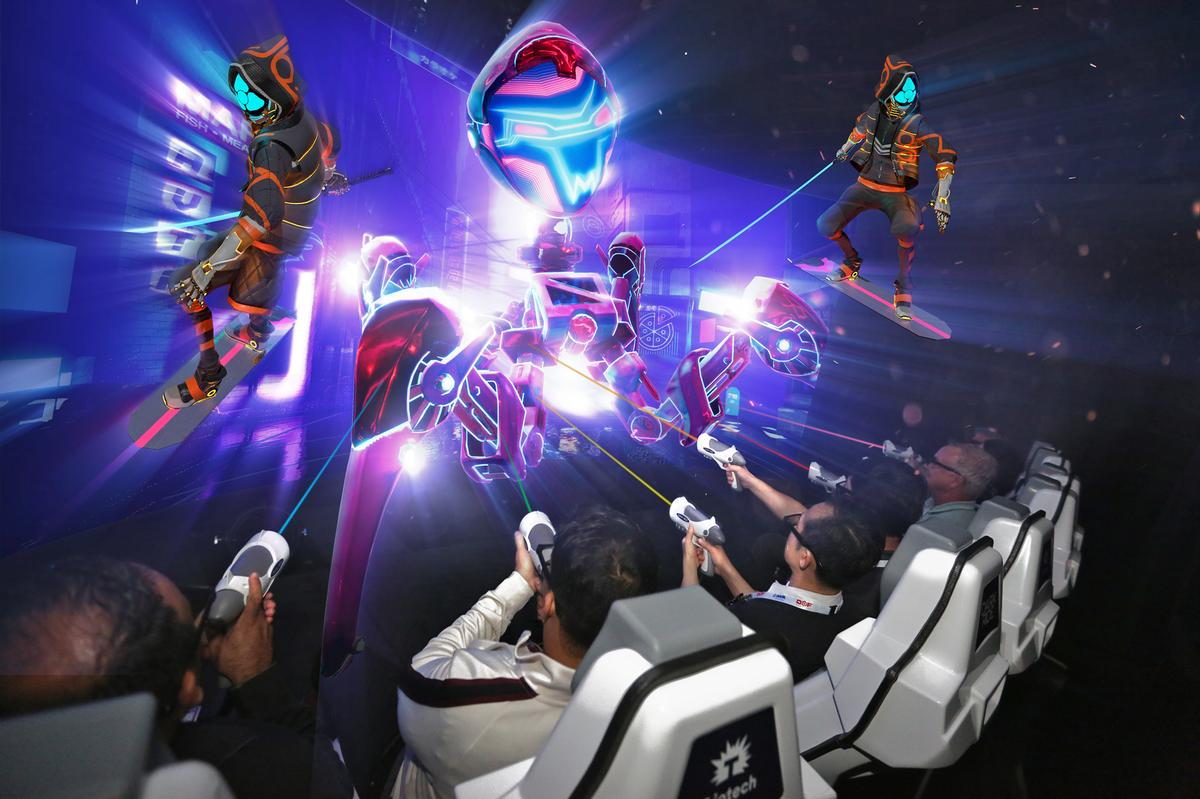 The two companies will look to create experiences that leverage the transformative trends in parks and location-based entertainment venues / Triotech