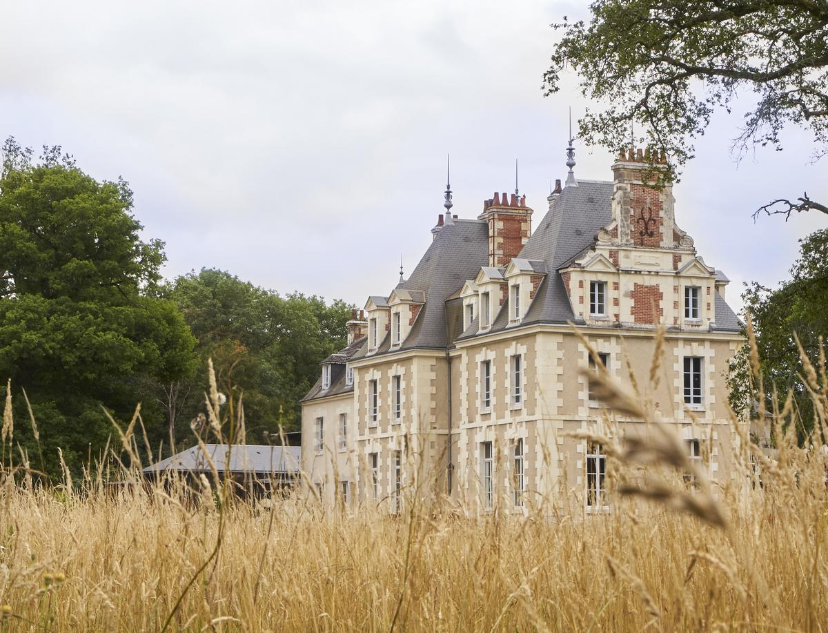 The estate's 800sq m vinotherapy spa, Le Spa des Sources, adjoins the Château and is designed to blend seamlessly with the location
