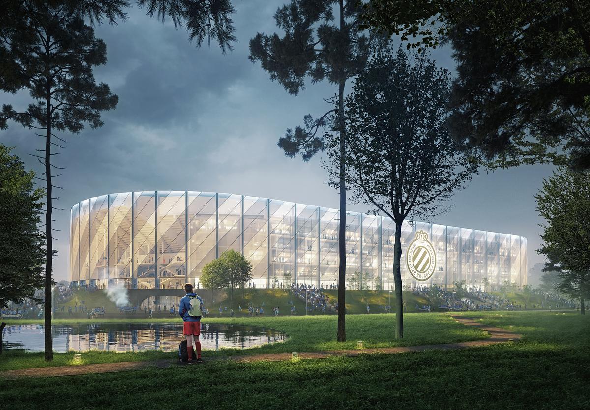 B2Ai and SCAU to design new €100m Club Brugge stadium