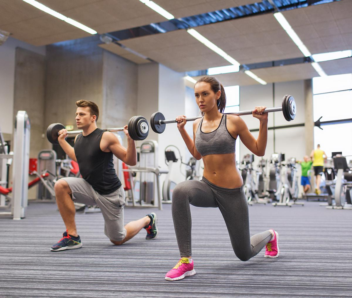 Despite being proven safe environments by visit date, gyms are among the businesses expected to be impacted by the restrictions included in the new 'very high' tier / Shutterstock.com/Syda Productions