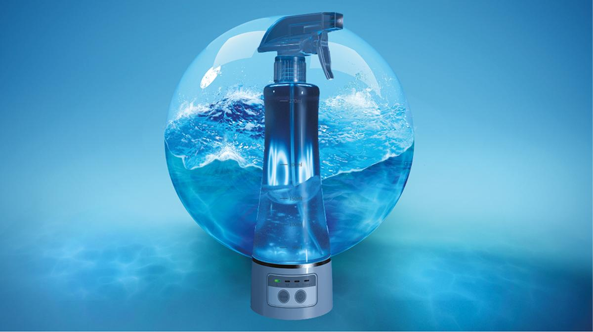 The Aquasalys provides a non-toxic disinfectant and cleaning action / Camylle