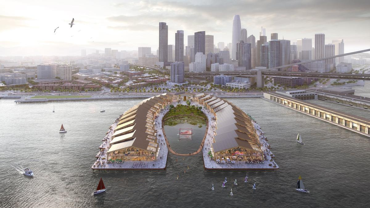 Heatherwick Studio reveals plans for 'The Cove' on San Francisco waterfront