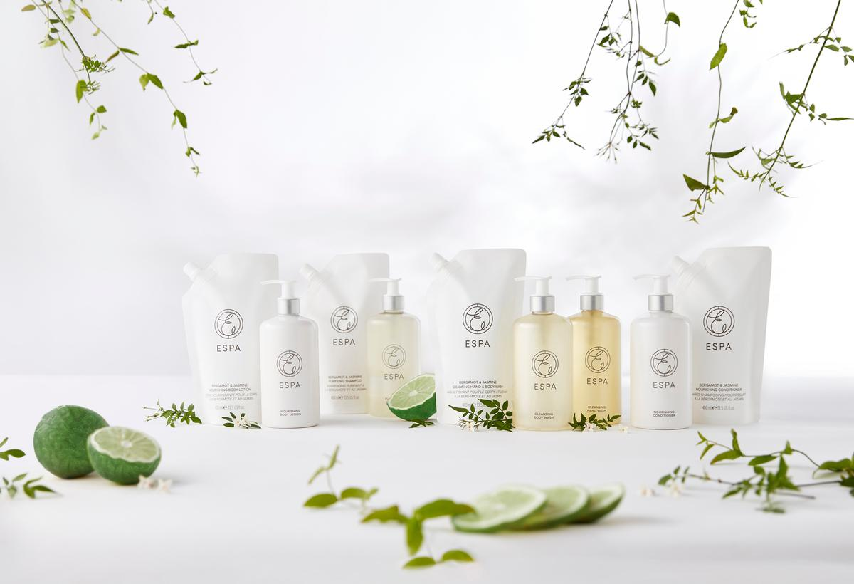 The new Essentials range comes in four new blends / ESPA