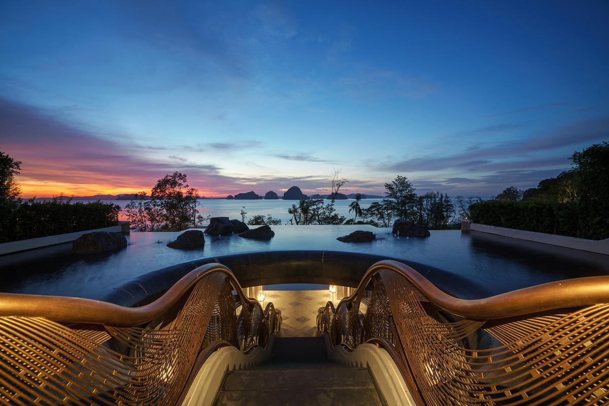 Architrave designs Banyan Tree Krabi with rainforest-themed spa