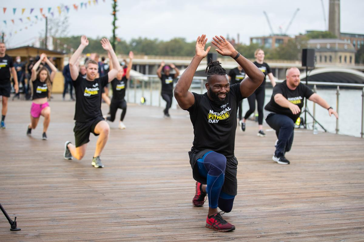 A total of 19.1 million people were inspired to be physically active on the day (23 September), smashing the campaign's 10 million target / ukactive