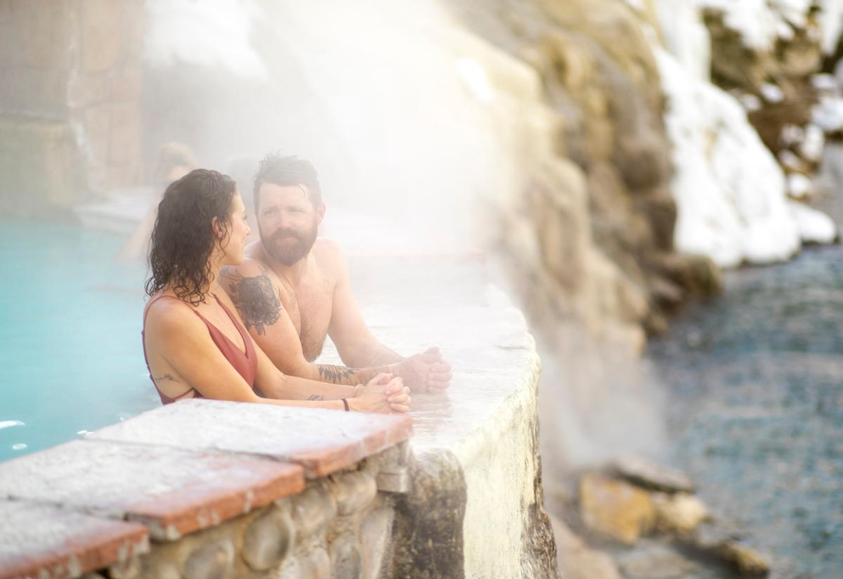 The global bathing event will be hosted in 11 countries / The Springs, Colorado
