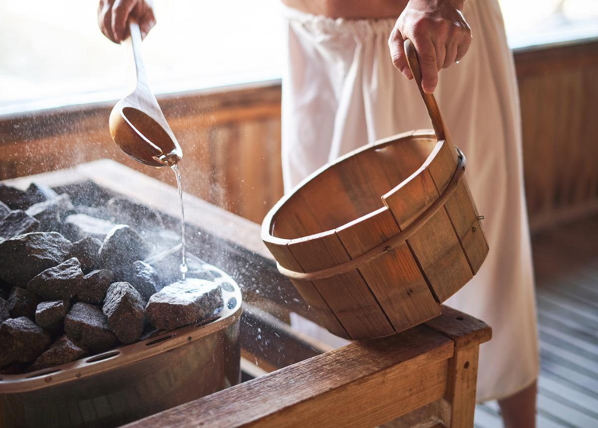 Talks will focus on topics such as combining sauna with professional sport, sauna design, health benefits from sauna bathing and the meaning of Finnish sauna experiences in the wellness industry / Shutterstock/Adelaides