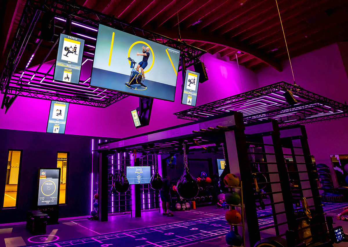 The research shows people will still crave the opportunity to train in a physical space