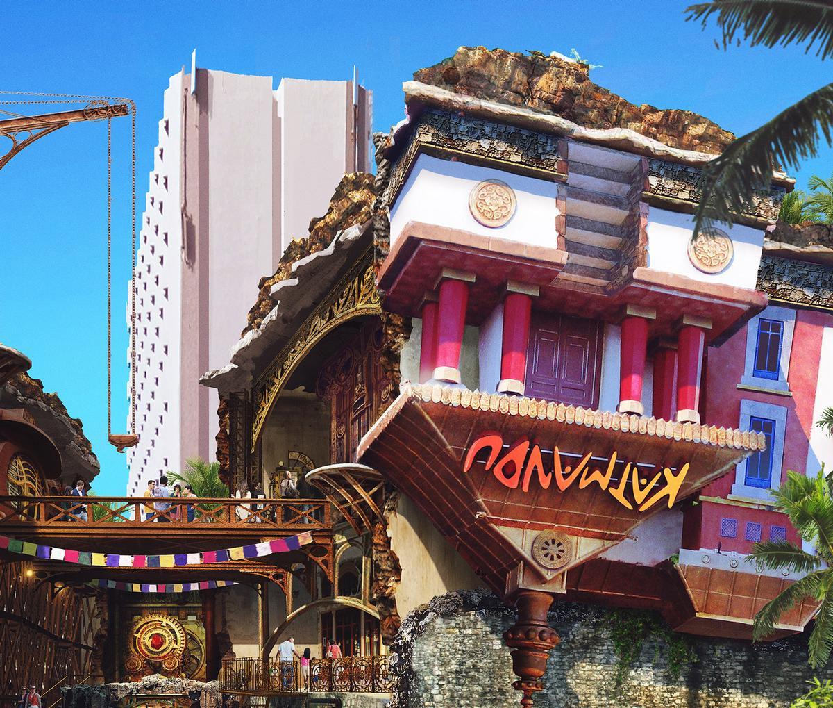 The partnership will develop new, story-based attractions utilising the Katmandu IP / Katmandu Group