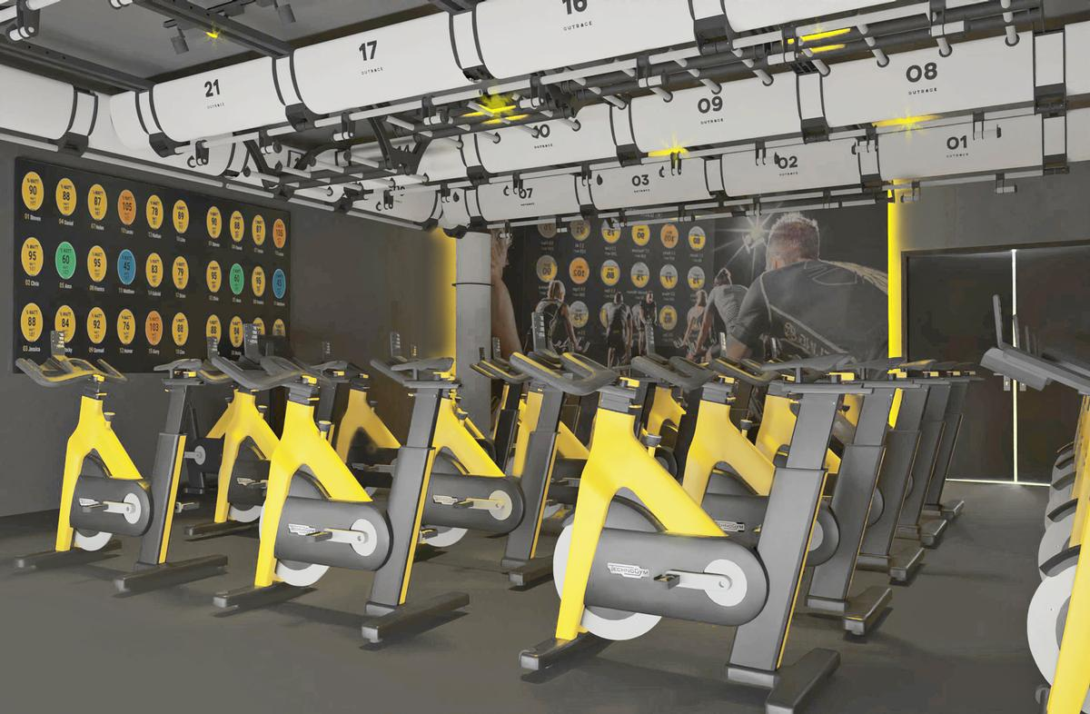 The 100+ station fitness suite has been kitted out by Technogym and the centre has adopted Technogym's mywellness ecosystem / Technogym