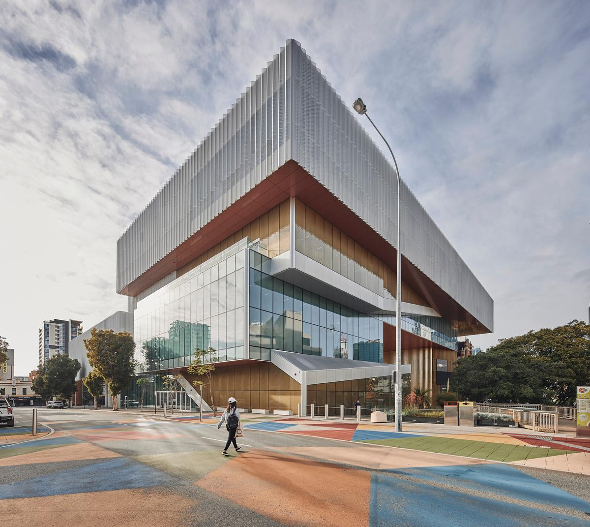 Perth's Boola Bardip museum opens in new AU$400m building designed by Hassell and OMA