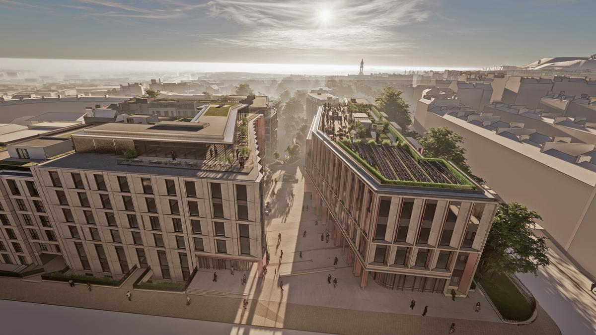 Architects 10 Design reveal plans for ambitious Edinburgh city centre plans