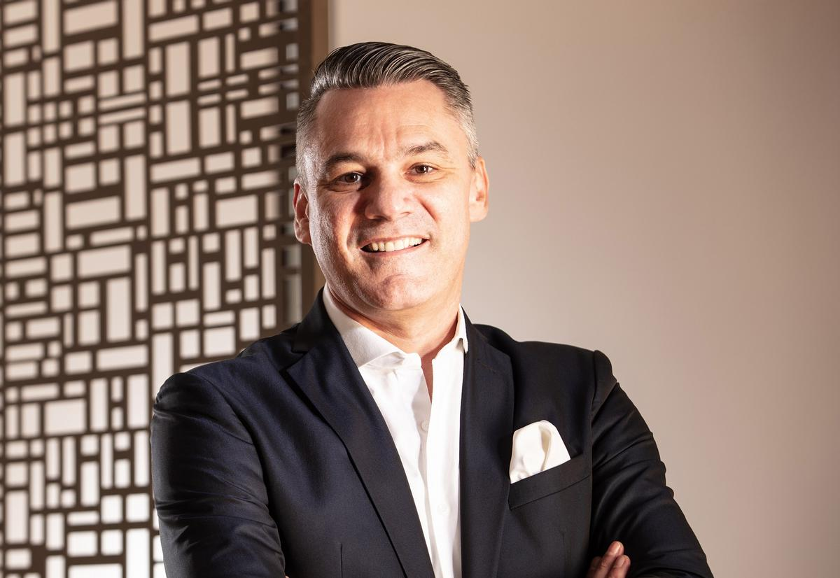Daniele Vastolo is overseeing every detail of Qatar's upcoming wellness destination during the pre-opening stages / Zulal Wellness Resort by Chiva-Som
