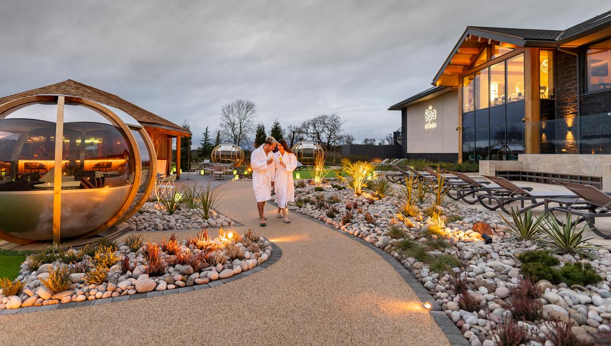 The Spa at Carden opened in January with a Bollinger champagne bar, following a £10m investment