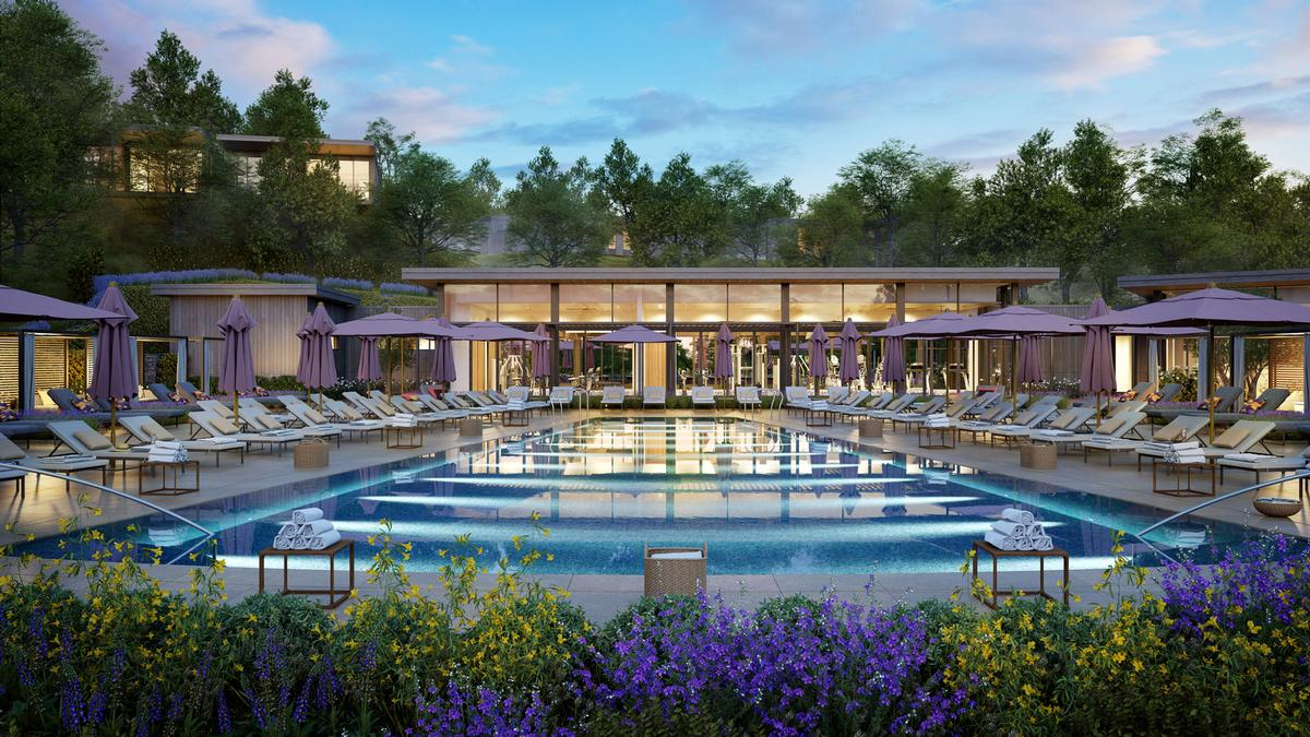 Montage Healdsburg is the collaborative vision of Glazier Le Architects, Delawie Architects and EDG Design / Montage Healdsburg