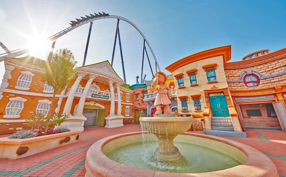 PortAventura in Spain won the best attraction award for its Sesame Street: Street Mission area / PortAventura/TEA