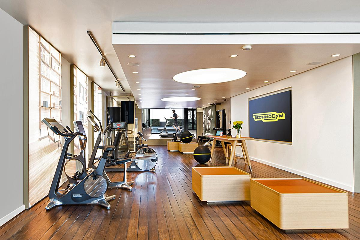 The opening forms part of Technogym's strategy to increasingly target the direct-to-consumer market / Technogym