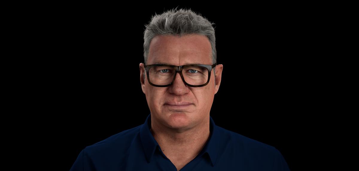 New Zealand Rugby Legend Sir John Kirwan has been recreated as 'Digital John Kirwan' or 'DJK' / Mentemia