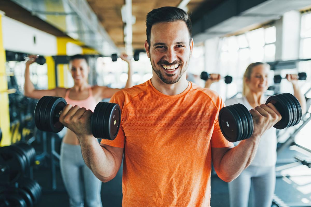 Data from a total of 55 million visits to 2,000 UK gyms and leisure centres, covering the four months from July to October, show that the prevalence of COVID-19 has remained extremely low / Shutterstock.com/NDAB Creativity