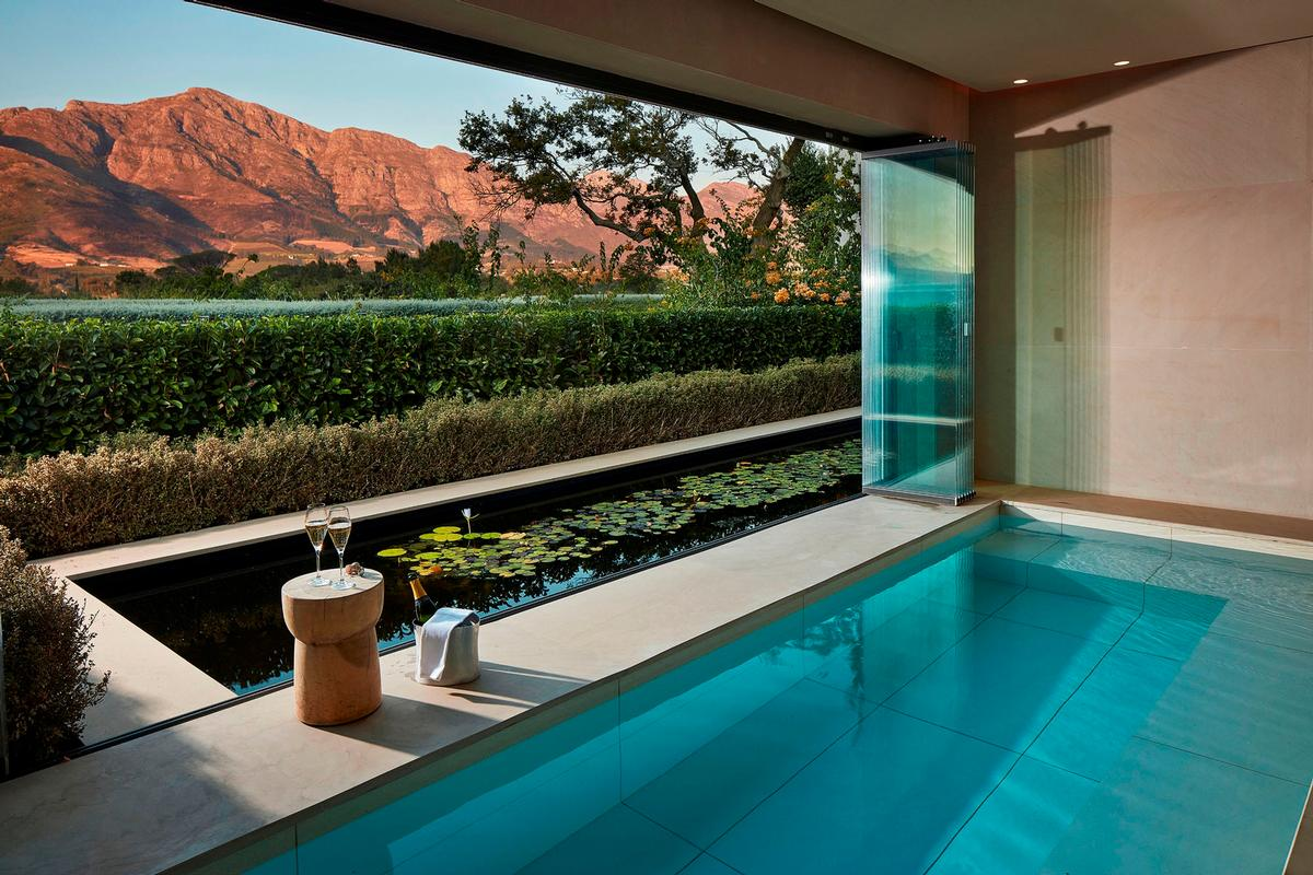 The spa will offer four Healing Earth signature experiences harnessing the grape's seeds, skins and stems for skincare