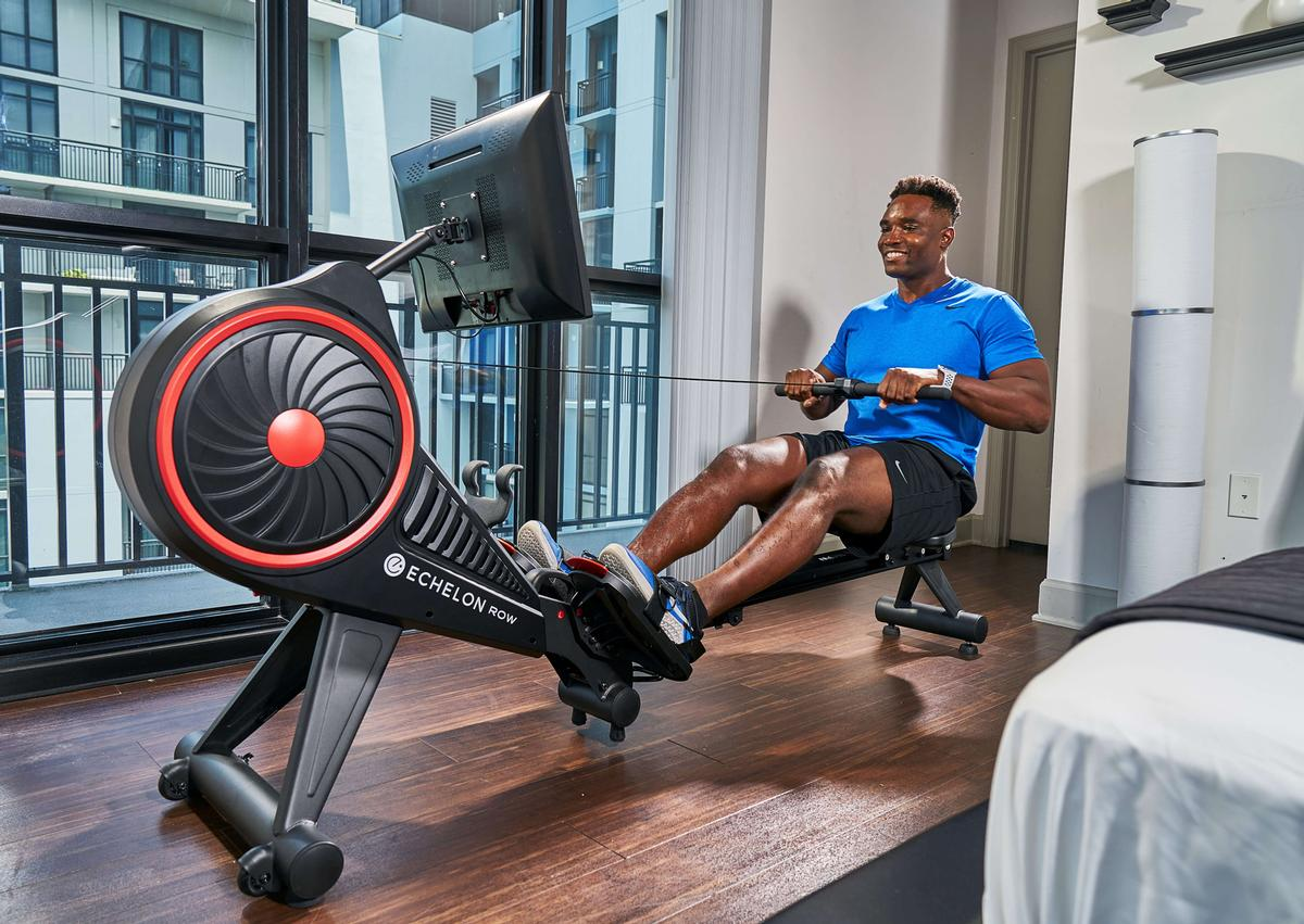 Echelon currently offers a line of connected products – from bikes, rowers, fitness mirrors, to a treadmill / Echelon