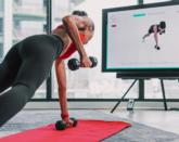 Presence.Fit allows trainers to see users remotely, through the front-facing camera of a mobile device / Presence.Fit