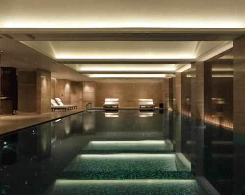 The trio worked together on the design, operational setup and opening of The Langley In Buckinghamshire, UK, which features a 1,600sq m subterranean spa