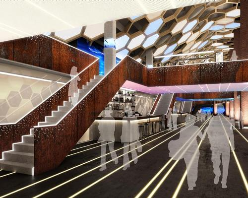An additional concourse level to house VIP boxes and lounges would be created / HOK/ASM Global