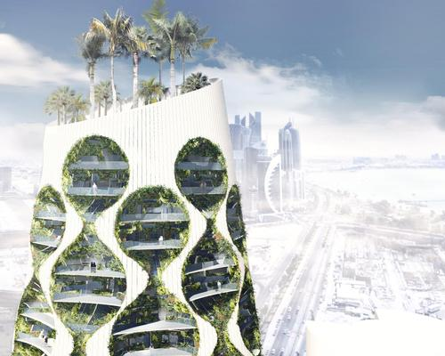 A mixed-use programme would include retail, office, hotel and residential spaces, as well as a rooftop park / FAAB Architektura
