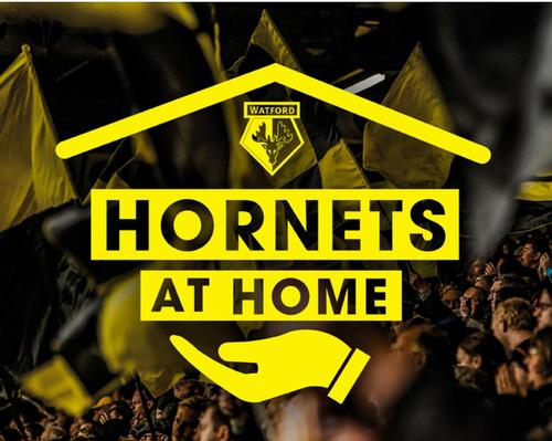 The Hornets at Home initiative will help elderly and disabled fans who are forced to stay at home during the outbreak / Watford FC