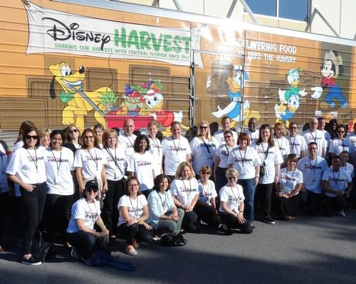 The Disneys resorts in Paris, Orlando and Anaheim have donated its surplus food supplies to charity