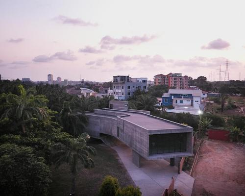 The Nubuke Extended project expanded the site to create a cultural and civic hub for Accra / Julien Lanoo