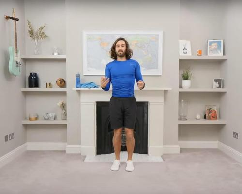 Personal trainer Joe Wicks has pledged to stream a live exercise session every weekday until schools are reopened
