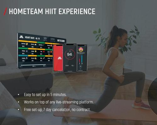 Motosumo's new HomeTeam service allows gyms to deliver at-home group classes