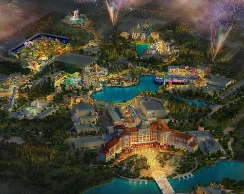 Universal's global construction projects are continuing and are on schedule inspite of the outbreak