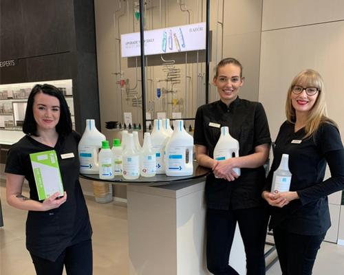 Babor spa and salons worldwide donate face masks and disinfectants to local hospitals @Babor #coronavirus #donations #community #spaindustry