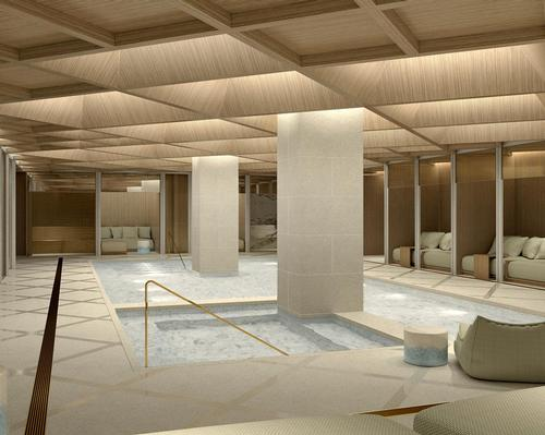 First glimpses of urban spa at world's first super-boutique hotel