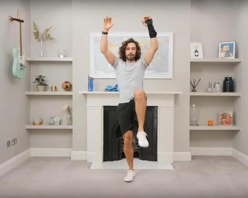 Wicks' free, daily sessions have resulted in the number of followers on his YouTube channel double to 1.8 million / YouTube/BodyCoach TV/Joe Wicks