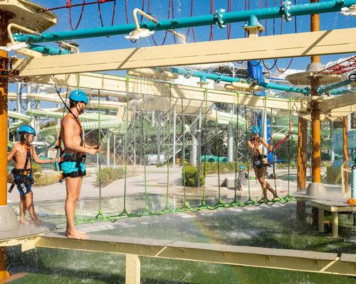 Polin encourages teamwork with new Splash Course