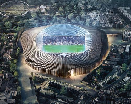 The club received planning permission in 2017 to build a 60,000-seat venue at the site of its current stadium / Chelsea FC / Herzog & de Meuron