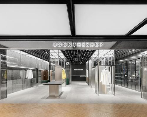 WGNB's South Korean gallery-inspired store displays clothes like artworks